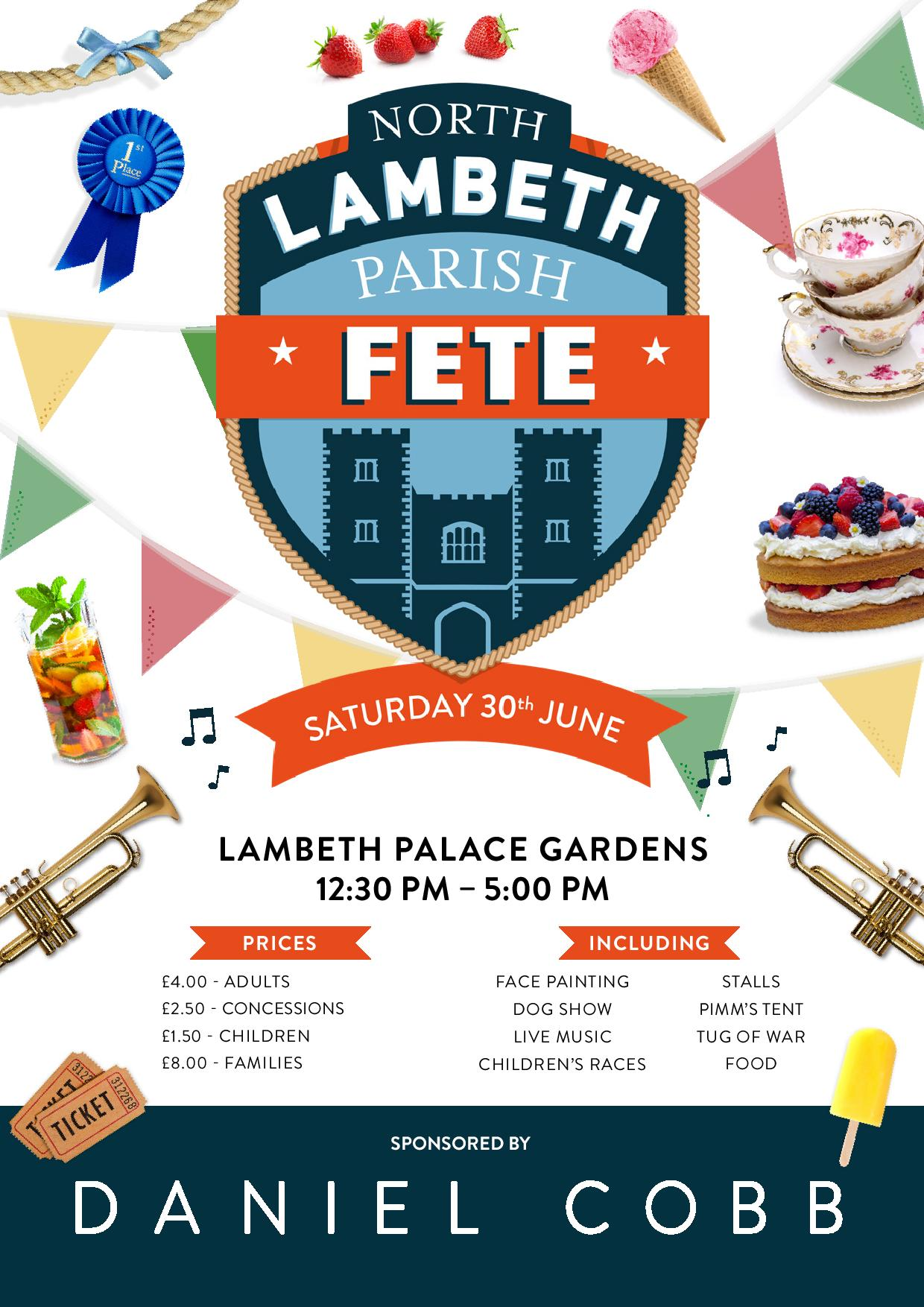 North Lambeth Parish Fete 2018
