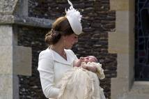 Christening Princess Charlotte Cambridge
