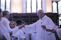 Archbishop Justin hands out crosses to new members of the Community of St Anselm, Lambeth Palace, 30 September 2016. (All photographs: Marc Gascoigne/Lambeth Palace)