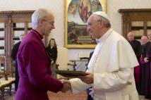 Archbishop Justin and Pope Francis will have their third fomal meeting in Rome next week.