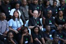 Archbishop speaks at conference with young Anglicans from southern Africa.