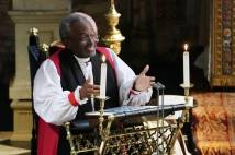 Bishop Michael Curry at the Royal Wedding