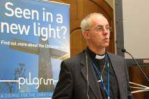 Archbishop Justin Welby speaks at the launch of new Pilgrim Course materials
