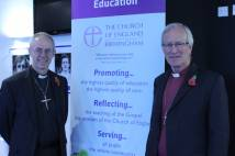 Archbishop Justin with the Bishop of Birmingham, the Most Revd David Urquhart.