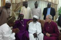 Archbishop Justin and Archbishop Daniel meet with the Chief Imam of Ghana, Kumasi.