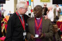 Justin Welby at the ACC in Lusaka