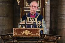 Justin Welby at Westminster Abbey