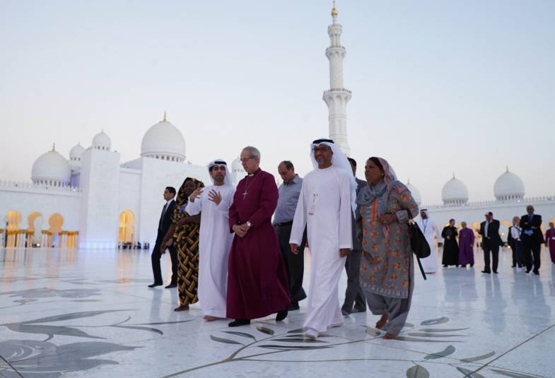Justin Welby in Abu Dhabi