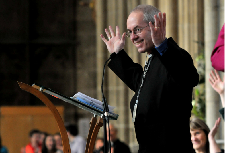 Archbishop Justin Welby at Canterbury Cathedral. (Photograph: Diocese of Canterbury)