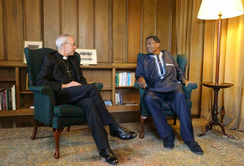 Archbishop Justin welcomes Pastor Adeboye to Lambeth Palace | The