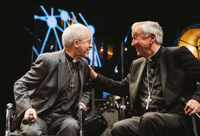 Justin Welby and Vincent Nichols