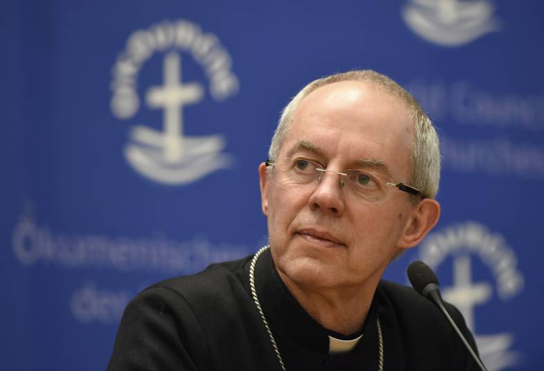 Justin Welby at the World Council of Churches in Geneva
