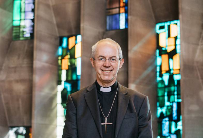 Justin Welby at Coventry Cathedral