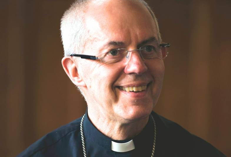 Justin Welby at Lambeth Palace