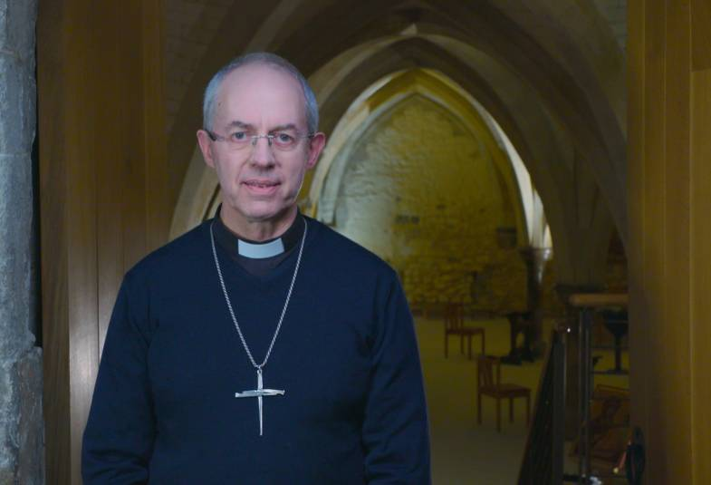 Justin Welby New Year Message