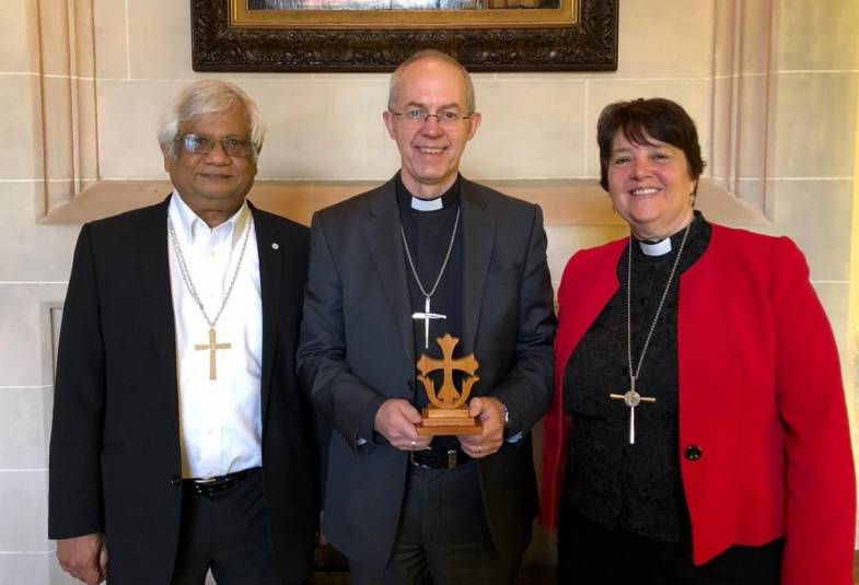 Justin Welby and Methodist leaders