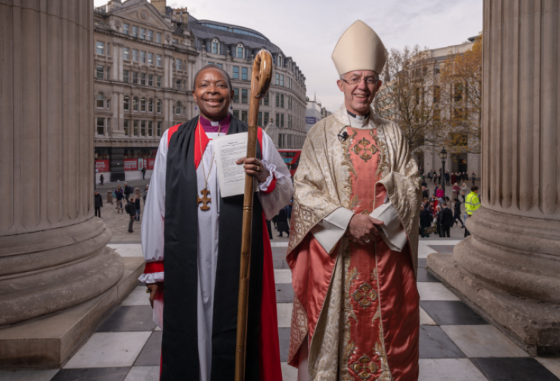 Bishop Rose and Archbishop Justin