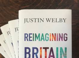Copies of Reimagining Britain by Justin Welby