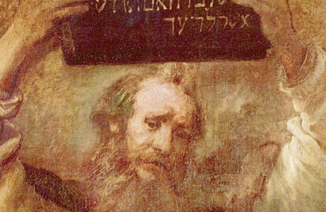 Moses with the Ten Commandments (Rembrandt)